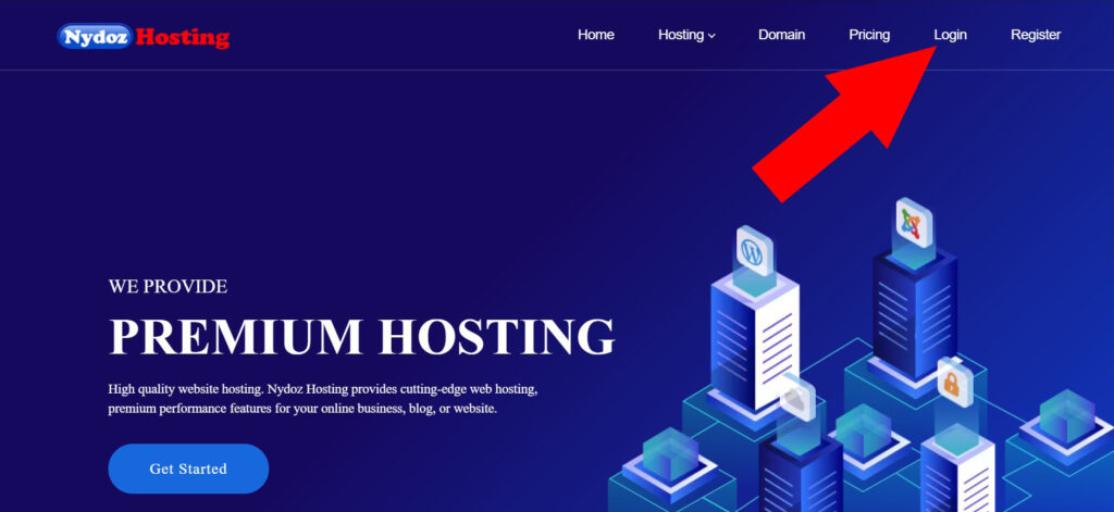 How to login Nydoz Hosting
